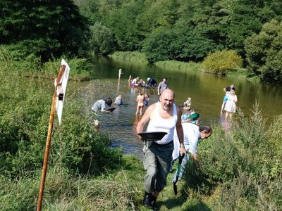 World River Goldpanning Championships in Pikovice 2020